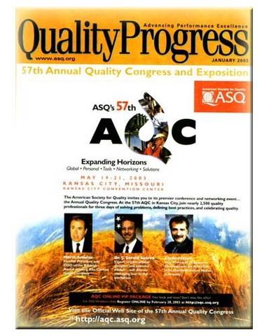 Publicacion de la Revista Quality Progress