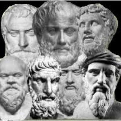 Desarrollo del pensamiento filosófico y político del hombre  timeline