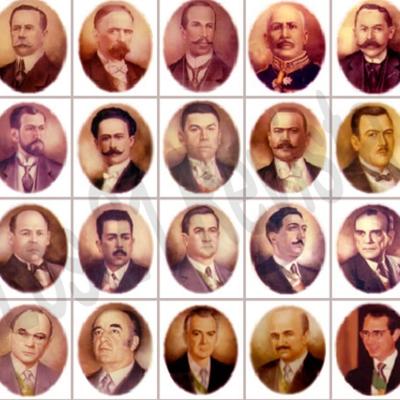 Presidentes de México timeline