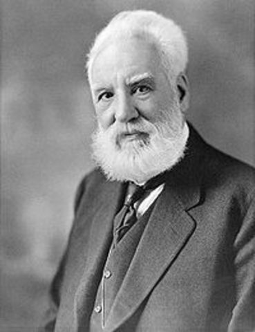 Alexander Graham Bell born