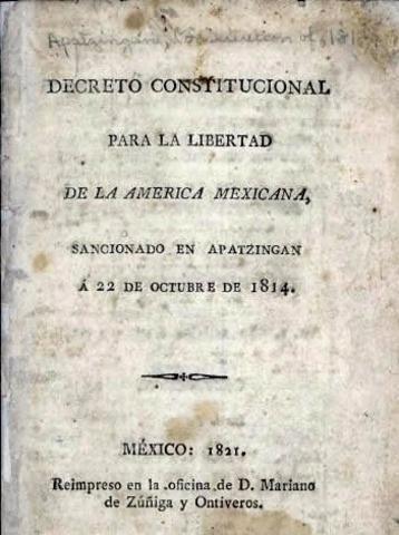 Constitución de Apatzingán