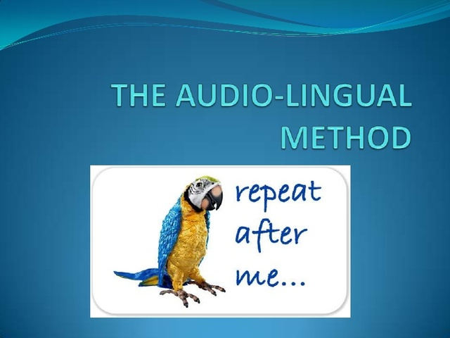 Advantages of audio lingual method