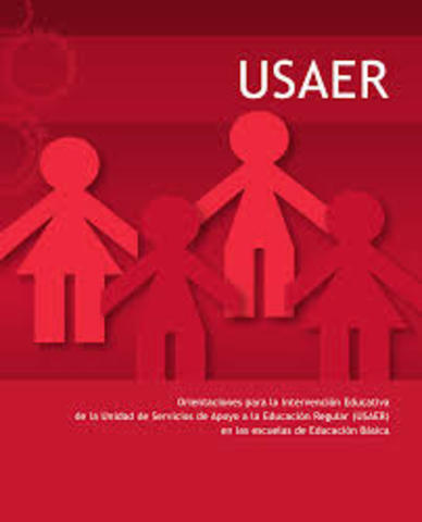 Se fundó el programa de integración educativa este fue dividido en 2 fundaciones las cuales son: USAER y CAM