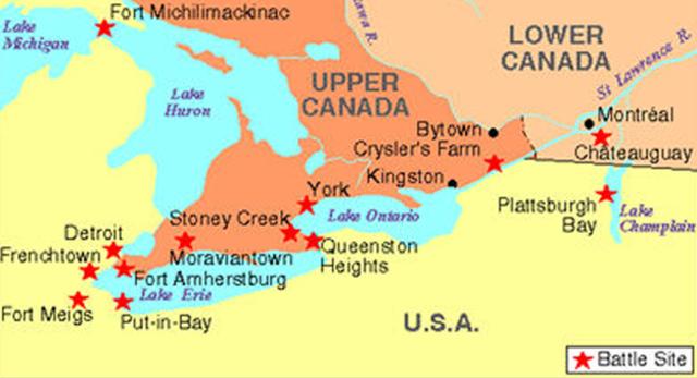 The War of 1812 timeline | Timetoast timelines