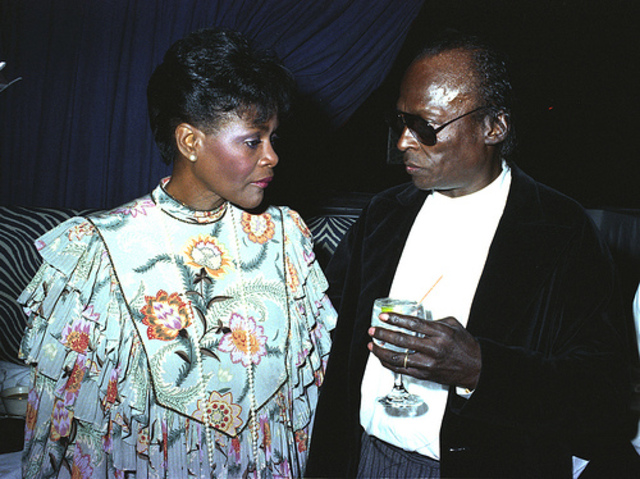 Married Cicely Tyson