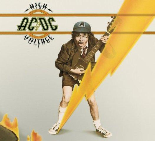 first album (High Voltage)