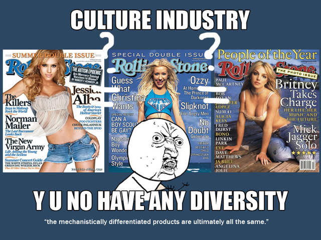 Culture industry thesis adorno