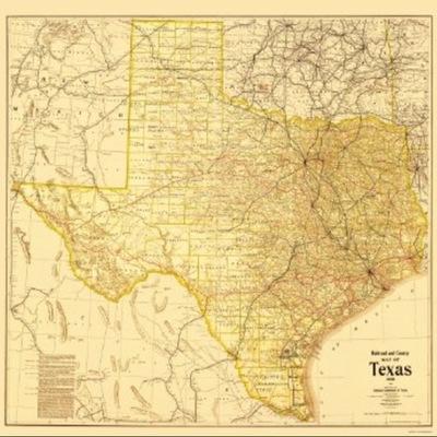 Texas Histoy-Emma Fortenberry 5 period timeline