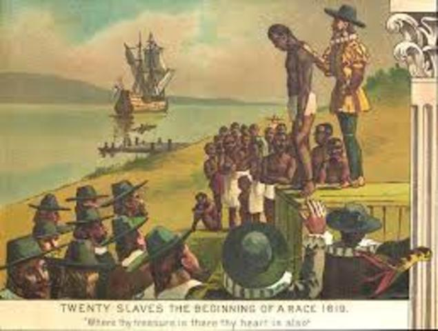 the beginning of african slavery The beginnings of slavery in america  but it also shows how european and american indian styles were beginning to infiltrate african culture.