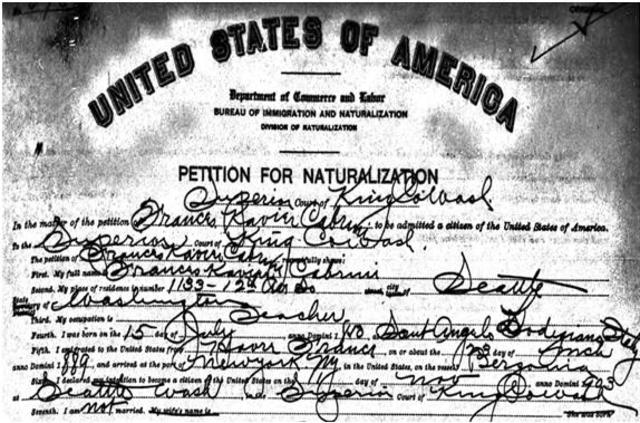 Act of Naturalization