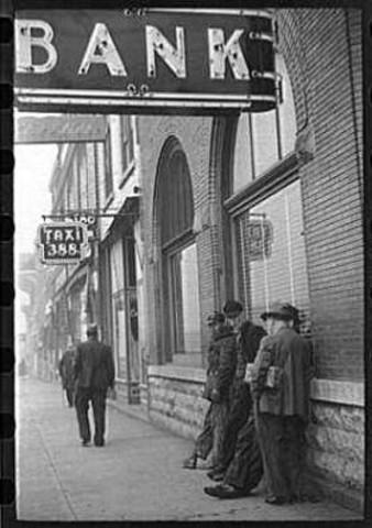 En la década de 1930 funcionaban bancos locales