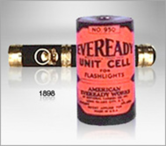 Eveready's First Flashlight