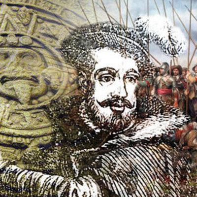 """Historia """"Inicios del hombre hasta la conquista de Tenochtitlan""""  timeline"""