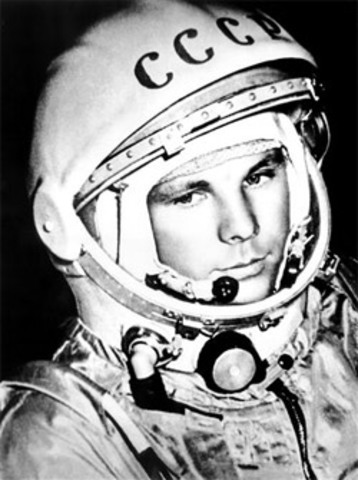 timeline of space exploration timetoast timelines Sputnik Russian Newspaper Announcement first russian man in space