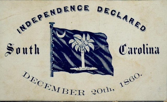 Image result for south carolina becomes the first state to secede from the union