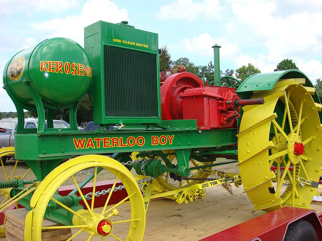 The Waterloo Gasoline Traction Engine Company