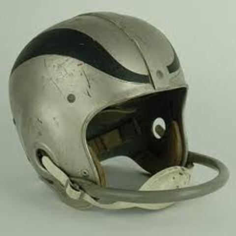 Single bar helmet nfl