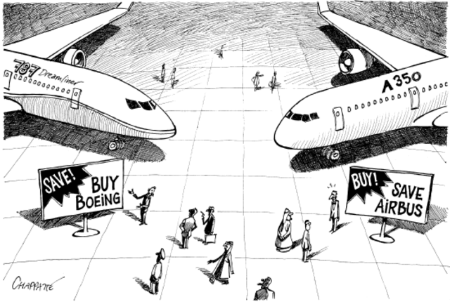 The Success of Airbus and Boeing Corporation in the