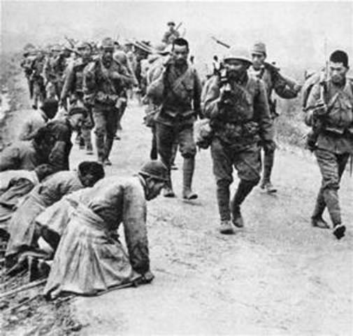 Japanese Occupation of Korea begins