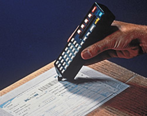 Introduces the SuperTracker®, a hand-held bar code scanner system that captures detailed package information.