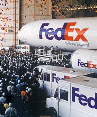 """Parent company FDX is renamed """"FedEx Corporation."""" Services are divided into companies that operate independently yet compete collectively: FedEx Express, FedEx Ground, FedEx Global Logistics, FedEx Custom Critical, and FedEx Services."""