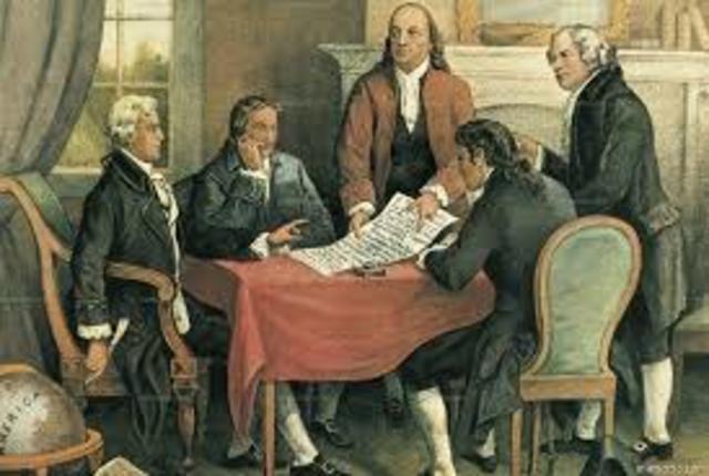 Declaracion de Independencia de Estados Unidos de America.