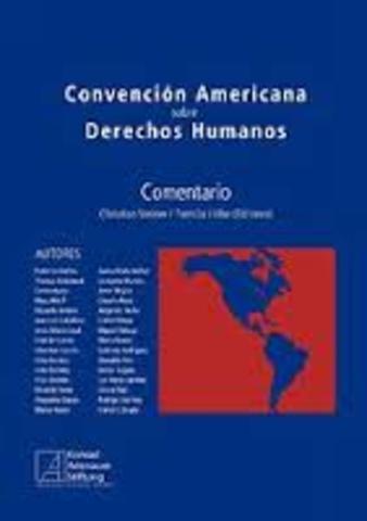 Declaración Americana de los Derechos y Deberes del Hombre.
