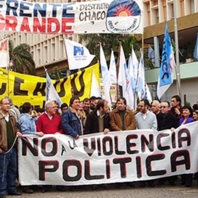 violencia política timeline
