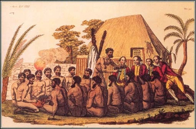 Captain Cook died in Hawaii