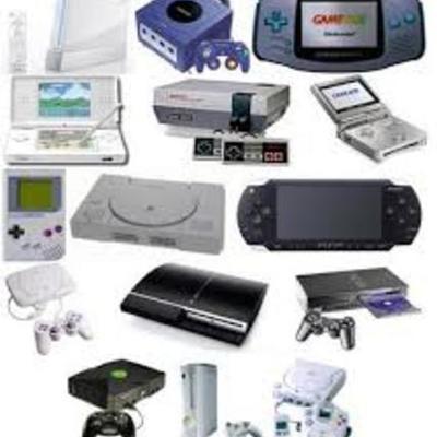 Historia de las videoconsolas(hasta año 2000) timeline