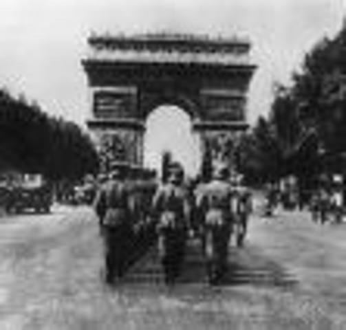 Paris Falls to Germany