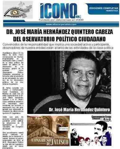 Dr. José María Hernández Quintero 1996-1997 Zapopan
