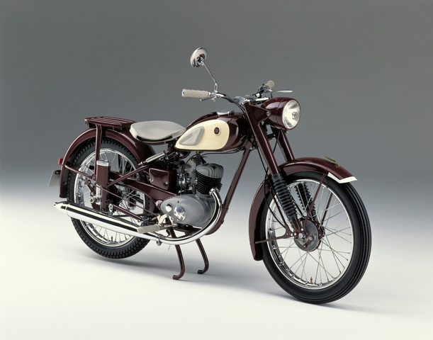 First Yamaha Motorcycle