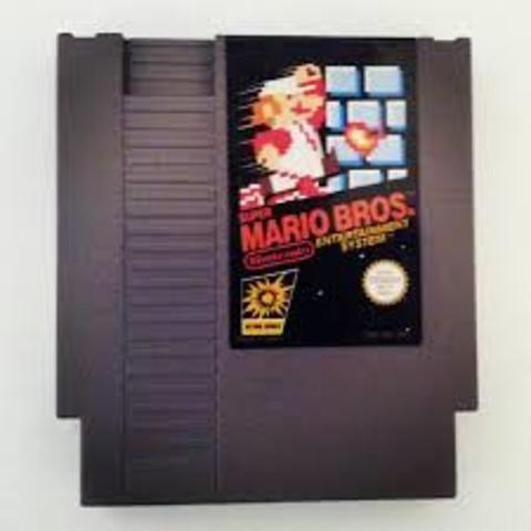 Super Mario Bros. first released