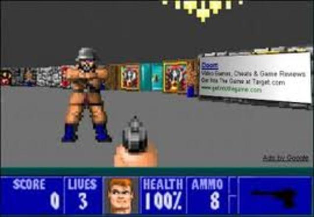 Wolfenstein 3D redefines first-person shooters