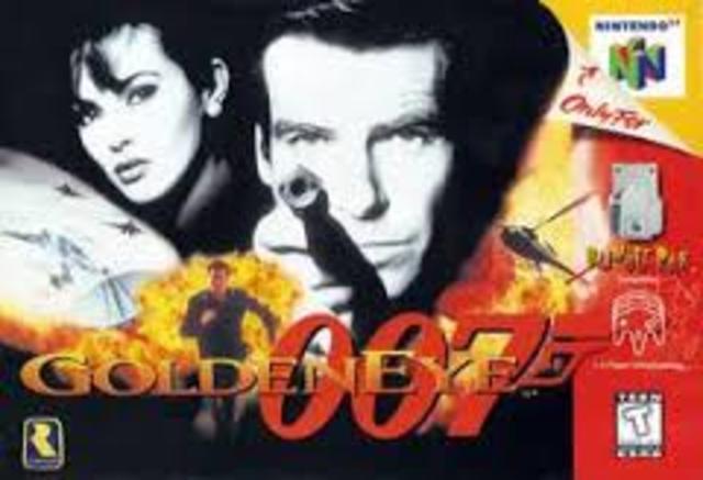 GoldenEye 007 entertains the N64 generation