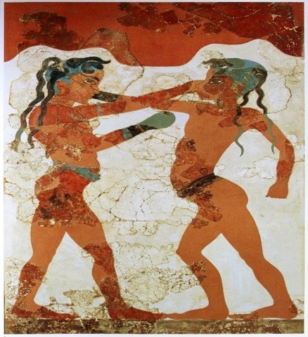 (1200 BCE)The Early history of boxing started in the Minoan and Mycenaean periods.