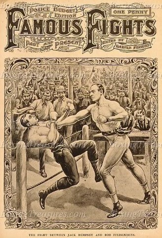 London Prize fighting