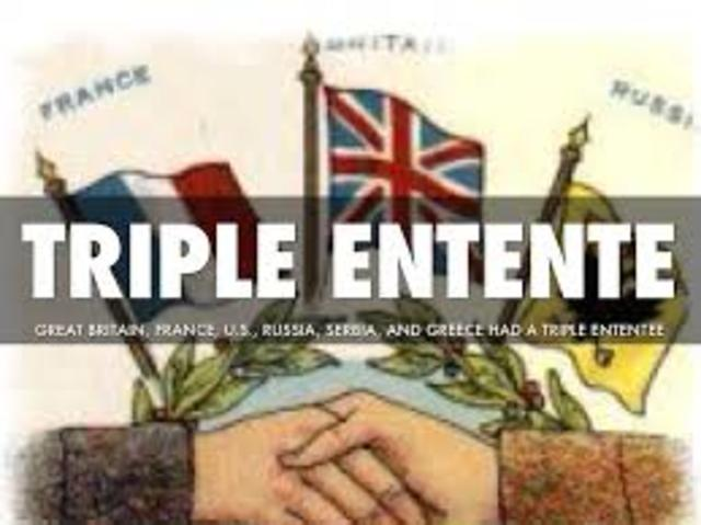 formation of the triple entente
