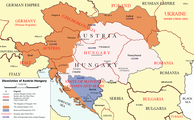 Incidents leading to the great war world war i timeline austria hungary declares war on serbia gumiabroncs Gallery