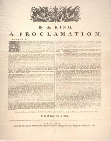 essay on the proclamation of 1763 Get access to proclamation of 1763 essays only from anti essays listed results 1 - 30 get studying today and get the grades you want only at.