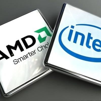 Evolución Microprocesadores  Intel  & Amd timeline