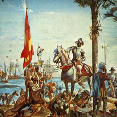The - Conquistadores  timeline