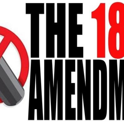 The 18th Amendment timeline