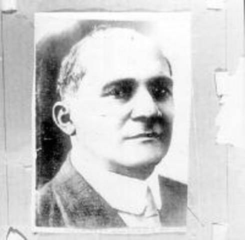 8 - Ciro Luis Urriola Garrés (3 de junio de 1918 - 1 de octubre de 1918)