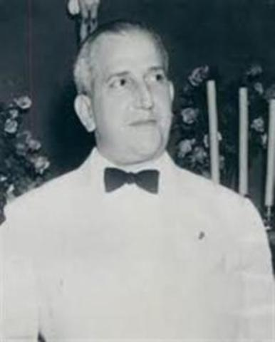 23 - Ricardo Adolfo de la Guardia Arango (9 de octubre de 1941 - 15 de febrero de 1945)