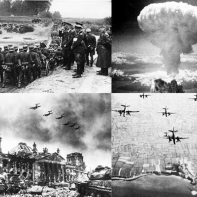 La Segunda Guerra Mundial y antecedentes timeline