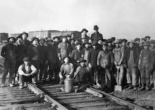 Building of the Transcontinental Railroad timeline ...