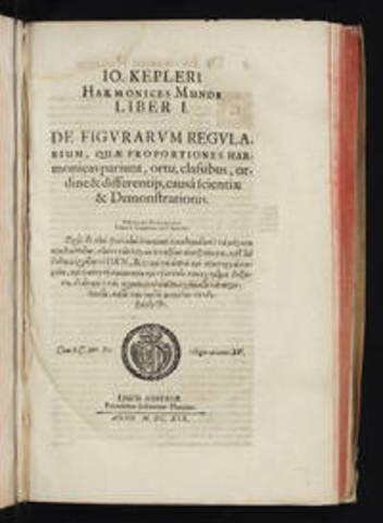 Johanes Kepler y su libro de los movimientos e los planetas.