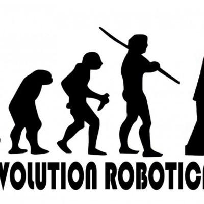 la evolución de la robótica  timeline